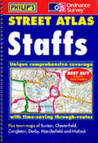 Staffordshire Street Atlas By Great Britain