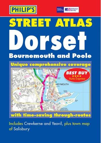 Philip's Street Atlas Dorset By Great Britain