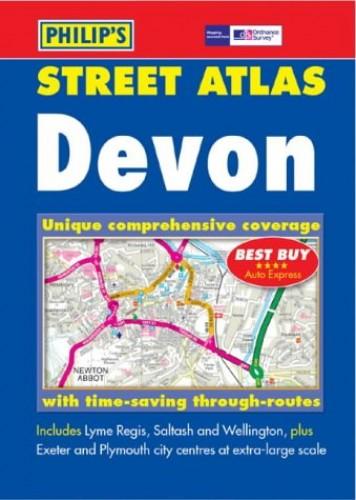 Devon Street Atlas By Various