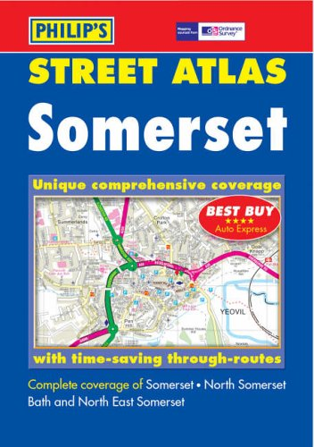 Philip's Street Atlas Somerset By Author