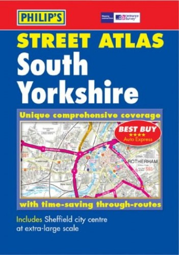 Philip's Street Atlas South Yorkshire By Anon