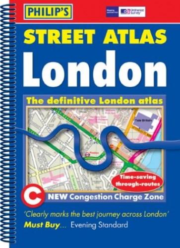 Philip's Street Atlas: London - Standard