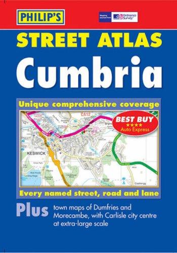 Philip's Street Atlas Cumbria