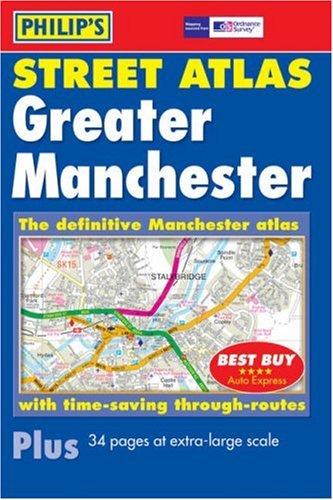Philip's Street Atlas Greater Manchester