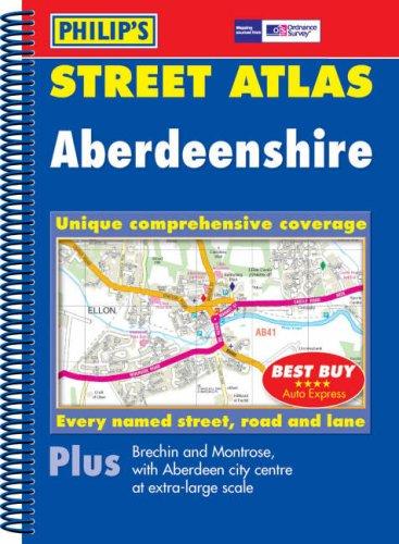 Philip's Street Atlas Aberdeenshire