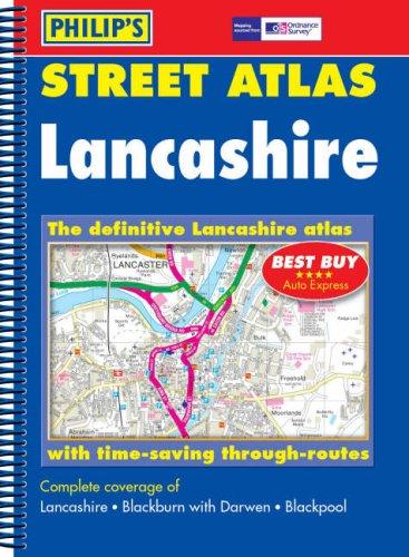 Philip's Street Atlas Lancashire