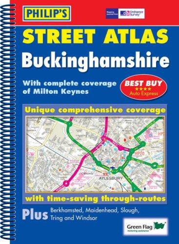 Philip's Street Atlas Buckinghamshire By Great Britain