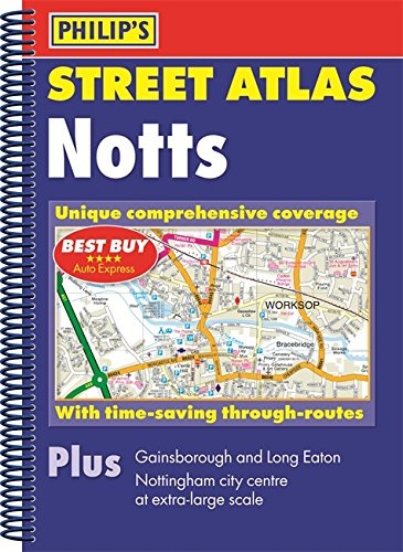 Philip's Street Atlas Nottinghamshire