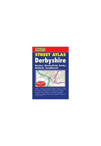 Philip's Street Atlas Derbyshire