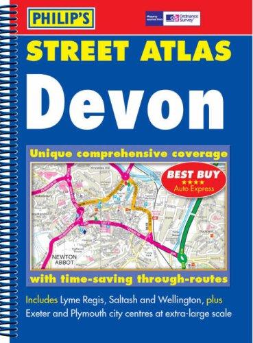 Philip's Street Atlas Devon