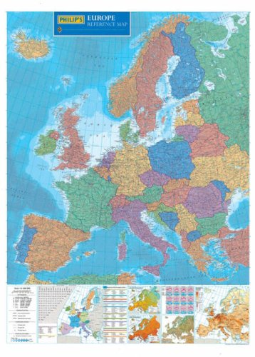 Philip's Reference Map: Europe