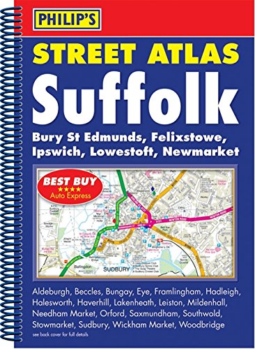 Philip's Street Atlas Suffolk By VARIOUS