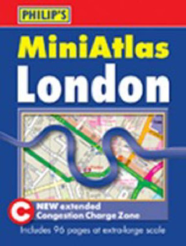 Philip's Mini Atlas London: Paperback (Philip's Street Atlases) by Unknown Author