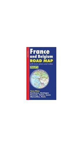 France and Belgium Road Map By Philips
