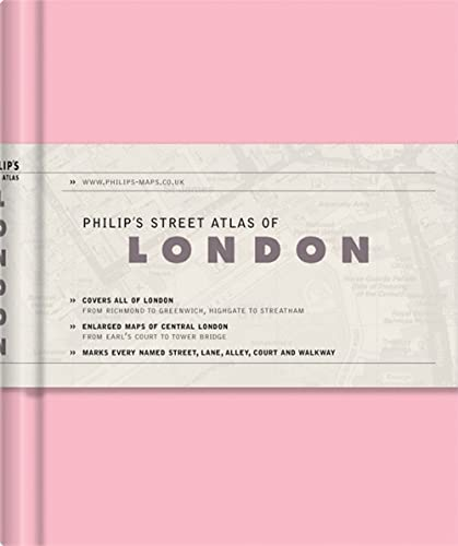 Philip's Street Atlas of London By VARIOUS