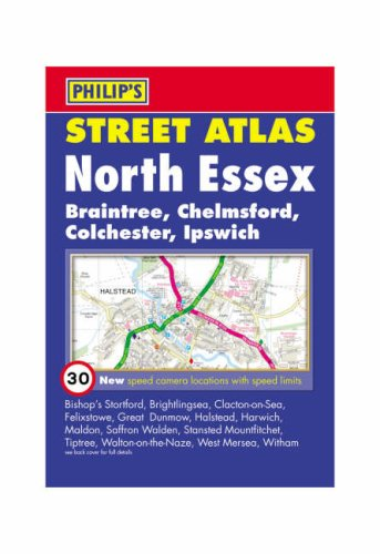 Philip's Street Atlas North Essex By Octopus Publishing Group
