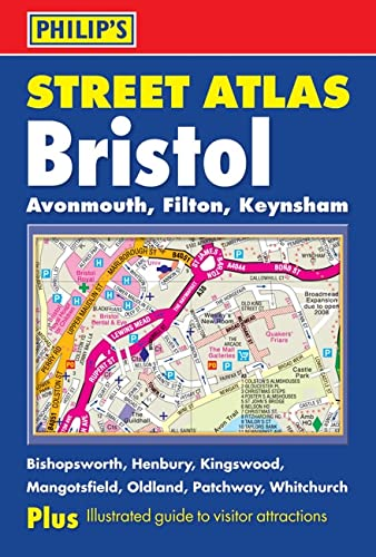 Philip's Street Atlas Bristol By VARIOUS
