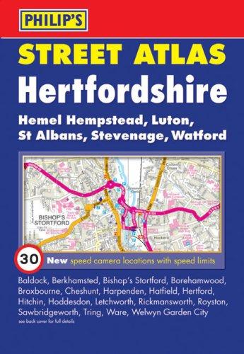 Philip's Street Atlas Hertfordshire By Phil01