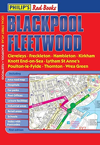 Philip's Red Books Blackpool and Fleetwood By VARIOUS