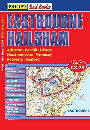 Philip's Red Books Eastbourne and Hailsham