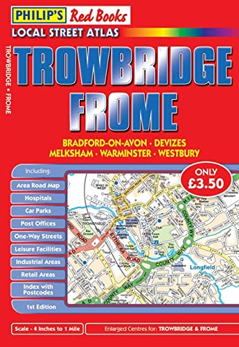 Philip's Red Books Trowbridge and Frome By VARIOUS