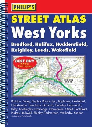 Philip's Street Atlas West Yorkshire