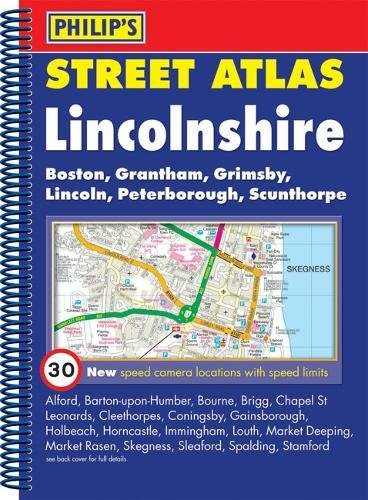 Philip's Street Atlas Lincolnshire By VARIOUS
