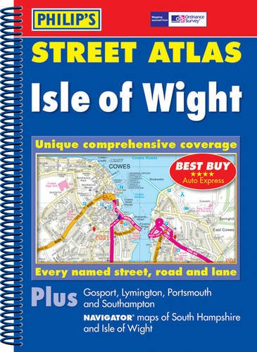 Philip's Street Atlas Isle of Wight By Street Atlas