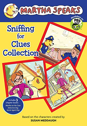 Martha Speaks: Sniffing for Clues Collection By Susan Meddaugh