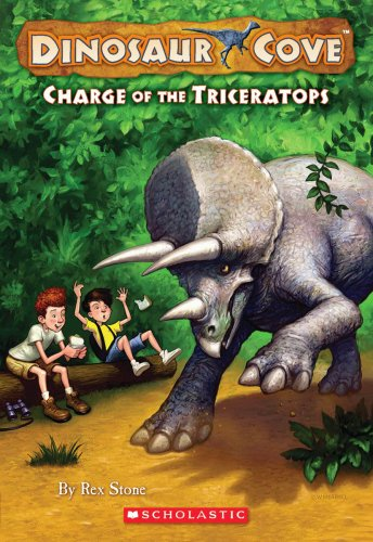 Charge of the Triceratops By Rex Stone