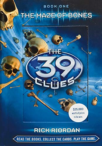 39 Clues: #1 Maze of Bones By Rick Riordan
