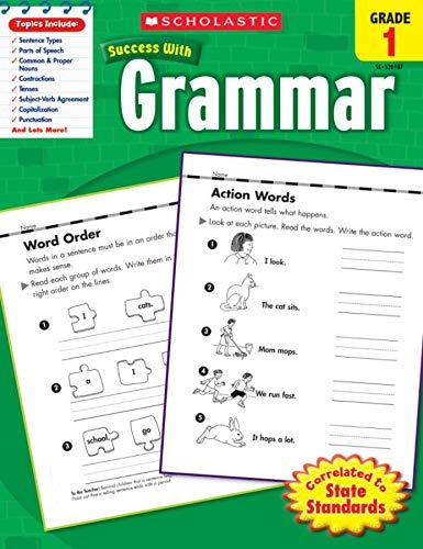 Grammar, Grade 1 By Scholastic