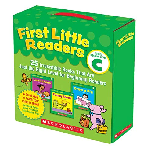 First Little Readers: Guided Reading Level C (Parent Pack) von Liza Charlesworth