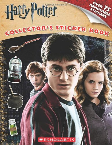 Harry Potter Collector's Sticker Book By Scholastic