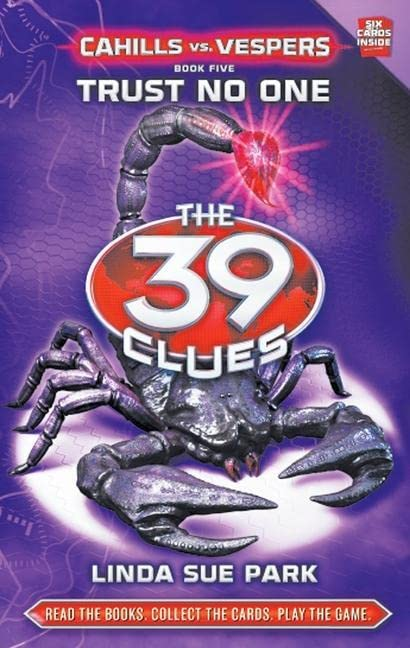 39 Clues Cahills Vs Vespers: #5 Trust No One By Linda Sue Park