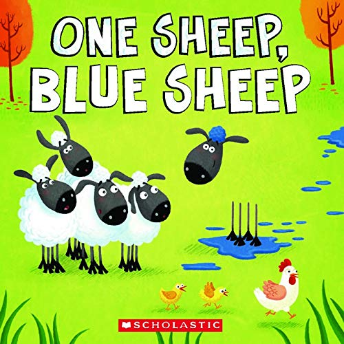 One Sheep, Blue Sheep By Thom Wiley