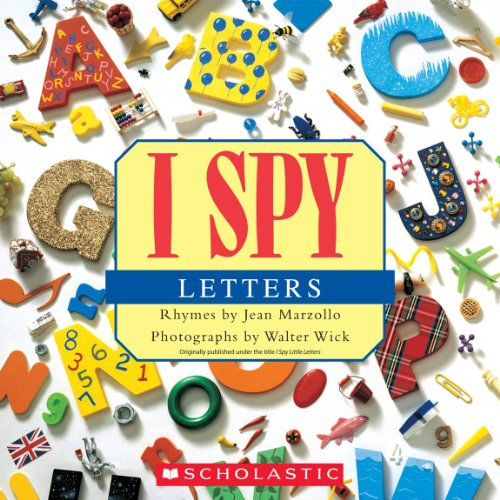 I Spy Letters By Jean Marzollo