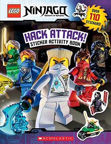 Hack Attack!: Sticker Activity Book (Lego Ninjago) By Ameet Studio