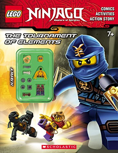 The Tournament of Elements (Lego Ninjago: Activity Book with Minifigure) By Ameet Studio