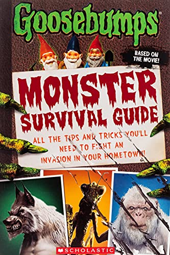 Goosebumps: Monster Survival Guide By Susan Lurie