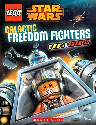 Lego Star Wars: Galactic Freedom Fighters Activity Book By Ameet Studio
