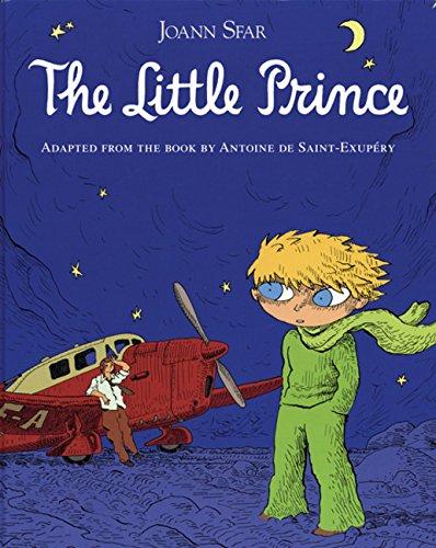 The Little Prince Graphic Novel By Antoine de Saint-Exupery