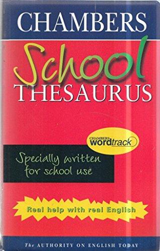 Chambers School Thesaurus (PVC) By zzzzzzz