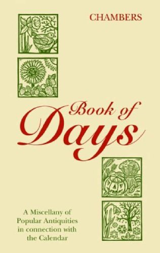 Book of Days By Chambers