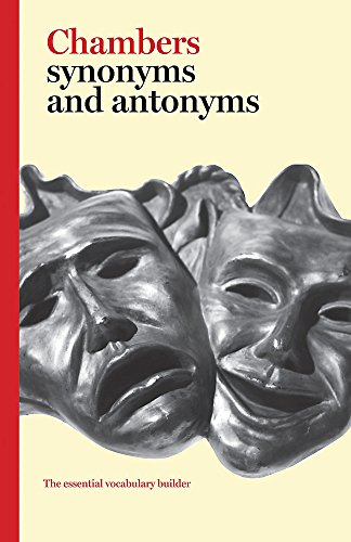 Chambers Synonyms and Antonyms By Chambers
