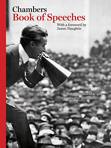 Chambers Book of Great Speeches By Chambers