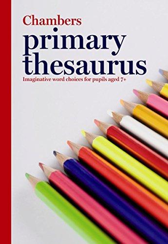 Chambers Primary Thesaurus By Chambers