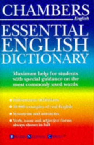Chambers Essential English Dictionary By A.M. Macdonald