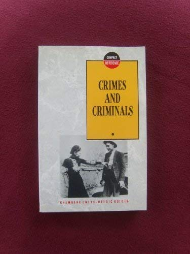 Crimes and Criminals By Nick Vandome