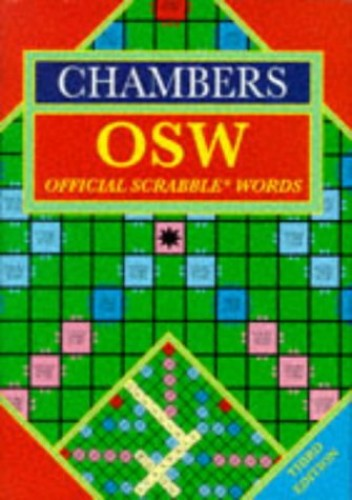 Chambers Official Scrabble Words By Volume editor Catherine Schwarz